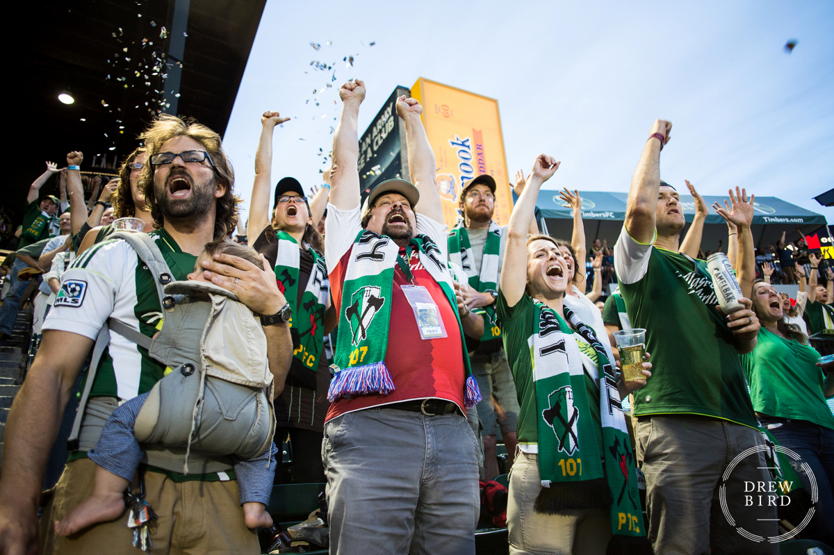 Portland Timbers Army | Documentary Photography | Event Photographer | Drew Bird Photo