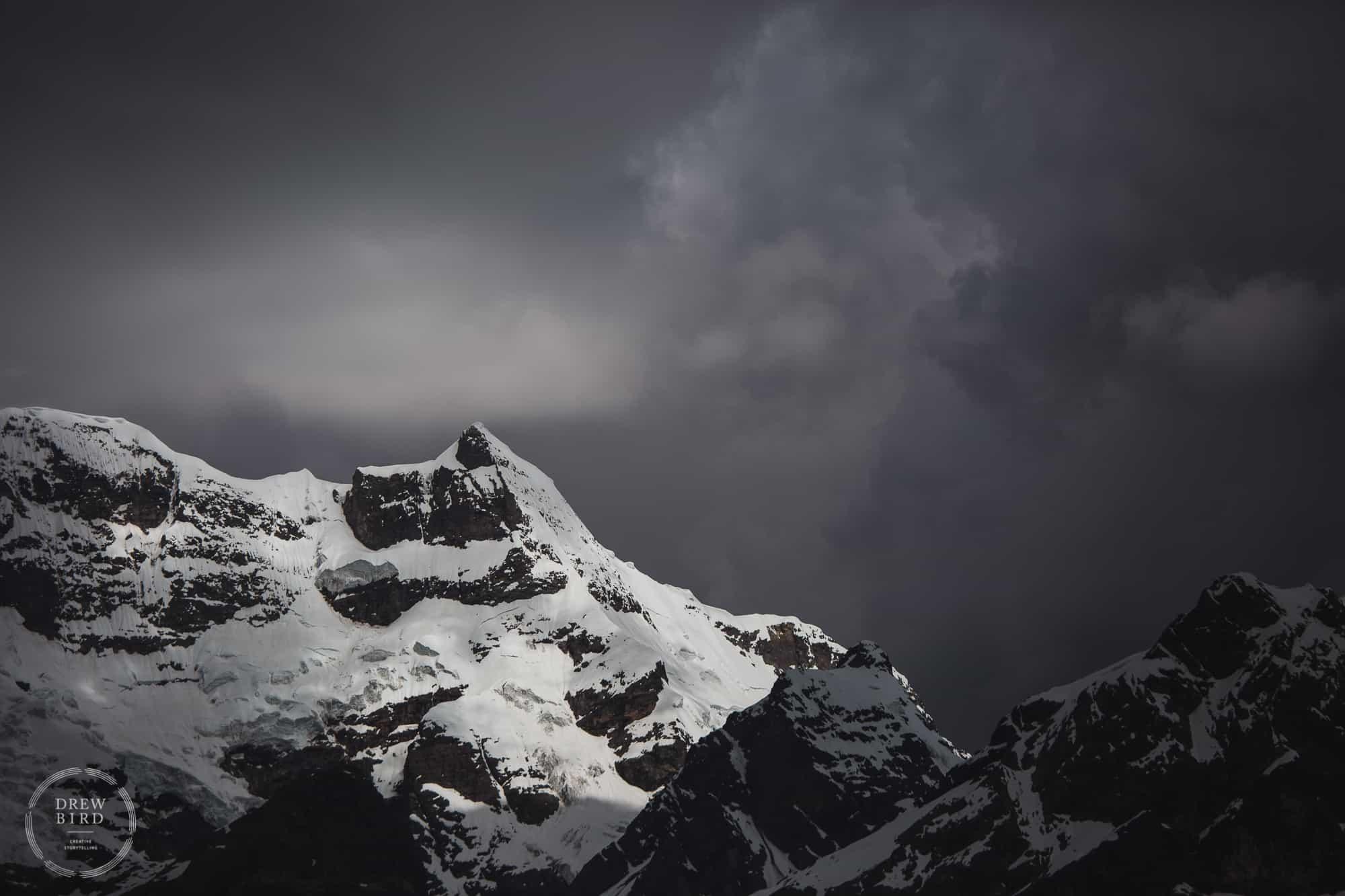 Glacier peru climate change